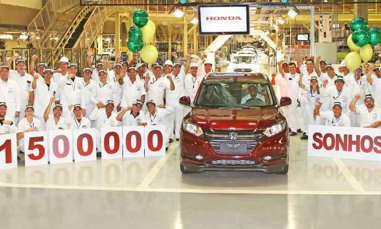 Sucesso de vendas no Brasil, Honda HR-V protagonizou nova marca - Honda/Divulga��o