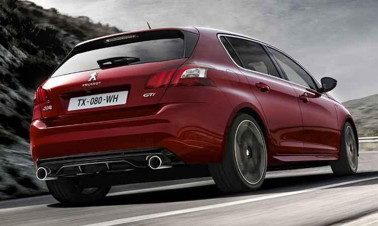 Carro de imagem e poucas vendas, novo 308 GTI aguarda melhor momento para importação - Peugeot/Divulgação