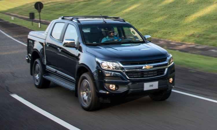 Chevrolet S10 reestilizada traz recursos de aux�lio ao motorista