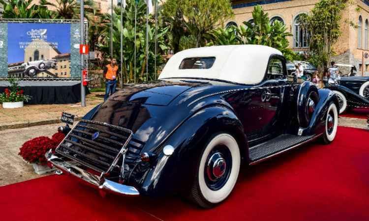 Lincoln K Coupe Le Baron V12 1936 recebeu o Troféu Roberto Lee (The Best of Show) - Brazil Classics Show'2016/Divulgação