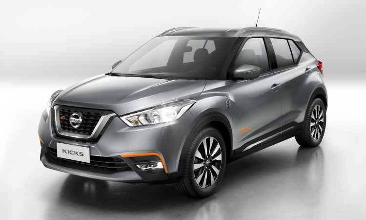Nissan come�a amanh� a pr�-venda do Kicks pela internet