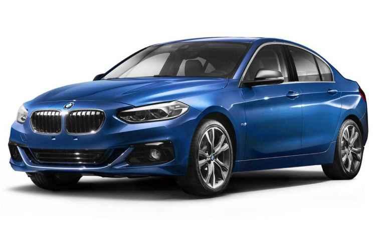 BMW S�rie 1 ter� modelo sed� na China