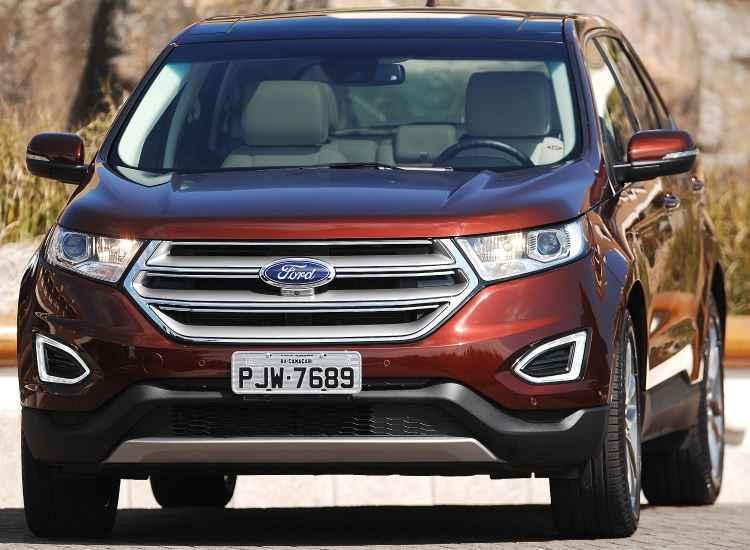 Novo Ford Edge cresce em tecnologia e pre�o na segunda gera��o