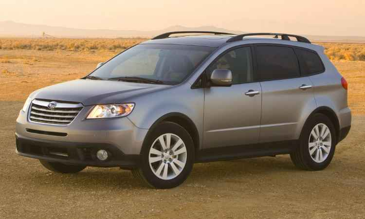 Subaru Legacy, Outback e Tribeca de 2004 a 2009 ter�o o airbag do passageiro substitu�do