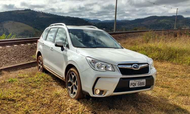 Teste: Subaru Forester XT Turbo tem comportamento din�mico diferente dos outros SUVs