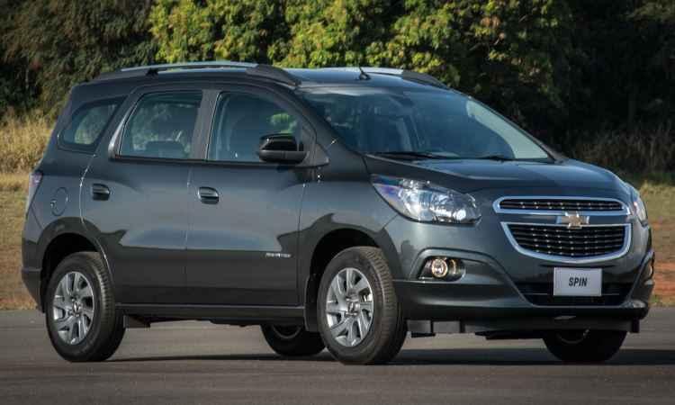 Chevrolet Spin 2017 segue melhorias do Cobalt para reduzir o consumo
