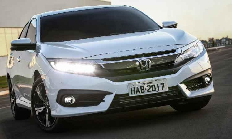 Honda capricha na d�cima gera��o do Civic, que ficou mais esportivo e caro