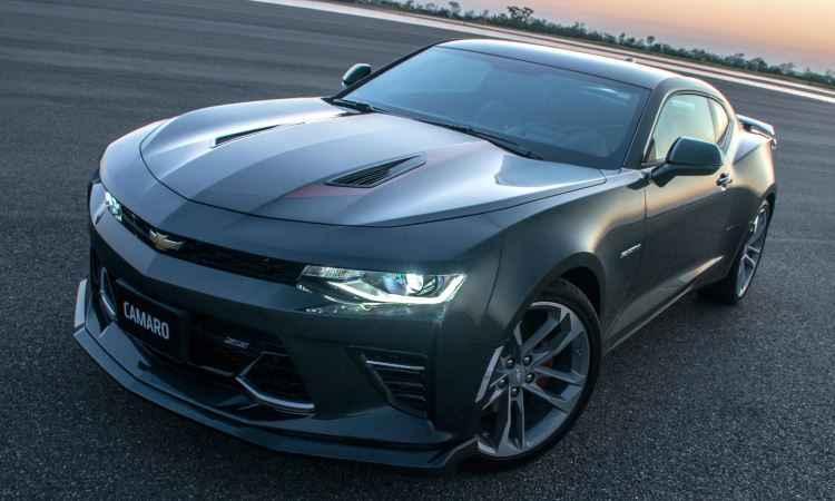 Sexta gera��o do Chevrolet Camaro estrear� no Brasil com s�rie especial Fifty