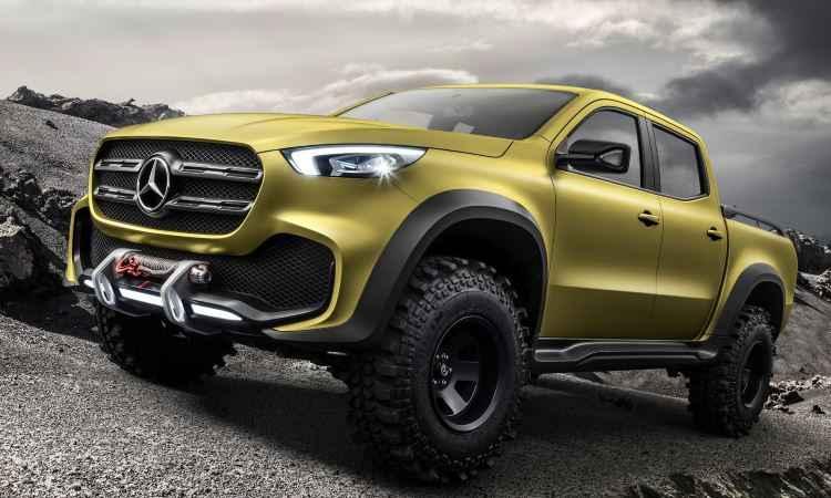 In�dita picape m�dia da Mercedes-Benz surge em duas vers�es conceito