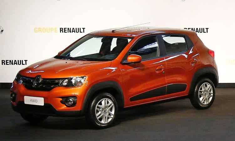 Renault Kwid - Rodolfo Buhrer/Divulgação Renault