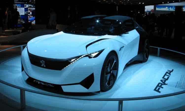 Carro conceito Peugeot Fractal - Enio Greco/EM/D.A Press