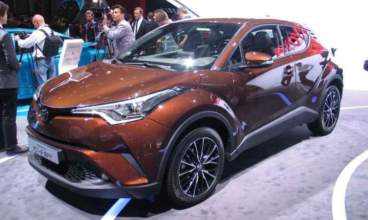 Toyota C-HR de produção, presente no Salão de Paris deste ano - Enio Greco/EM/D.A Press