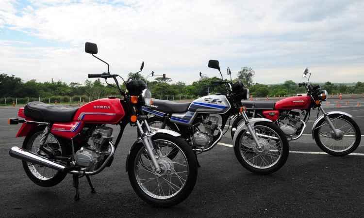 Honda CG completa 40 anos com números que a tornam recordista de vendas nas diversas versões