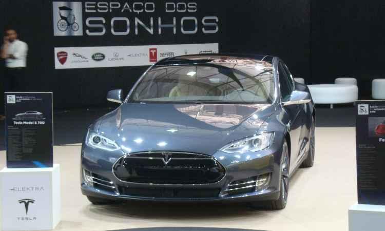 Tesla Model S 70 D - Bruno Freitas/EM/D.A Press