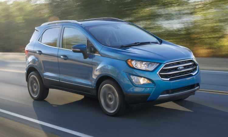 Ford EcoSport reestilizado dá as caras primeiro nos EUA; vendas por lá, só em 2018
