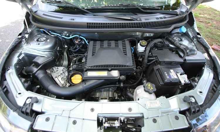 Novo motor 1.0 FireFly de três cilindros não tem desempenho brilhante, mas é muito econômico - Edésio Ferreira/EM/D.A Press