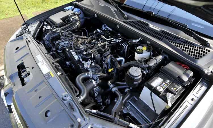 Motor 2.0 biturbo mostra entusiasmo em qualquer regime de rotação - Juarez Rodrigues/EM/D.A Press