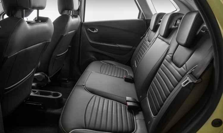 Espaço traseiro é bom e bancos em couro são opcionais - Renault/Divulgação