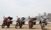 Pilotando uma Honda Africa Twin, Téo Mascarenhas foi do Atlântico ao Pacífico em ritmo de aventura