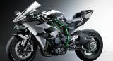 Com motor de 998cm³ de cilindrada, Kawasaki Ninha H2R voa baixo, mas foi feita para circuitos fechados