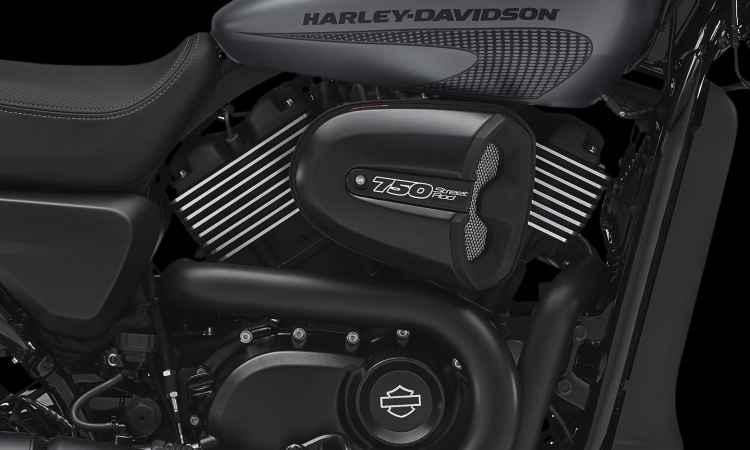 O motor dois cilindros em V, refrigerado a água, ganhou mais potência e torque - Harley-Davidson/Divulgação