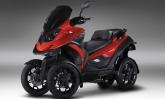 Scooter Quadro4 feito por empresa suíça é ideal para o conturbado trânsito das grandes cidades