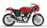 Triumph oferece três kits de personalização para a Thruxton 1200 R, do clássico ao esportivo