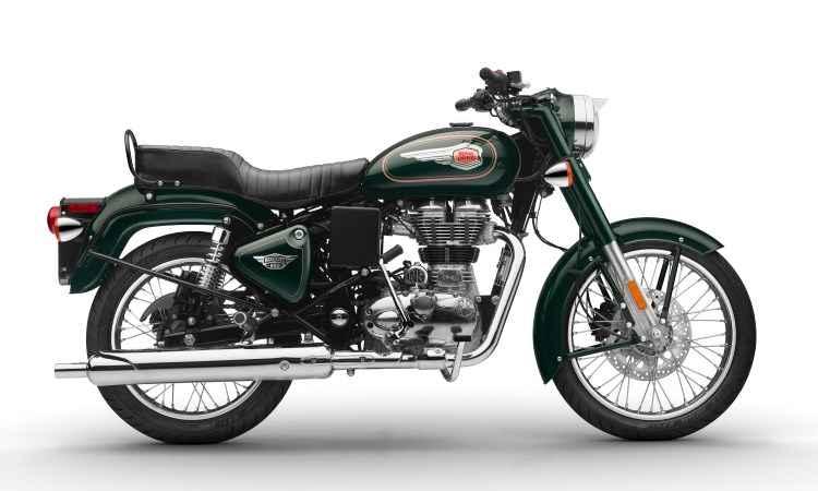 O modelo Bullet 500 é a motocicleta em produção contínua mais antiga do mundo - Royal Enfield/Divulgação