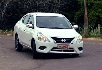 Teste: Nissan Versa 1.6 Unique e 1.0 S