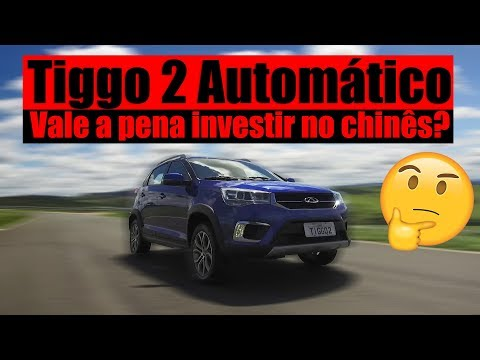 LANÇAMENTO CHERY TIGGO 2 AUTOMÁTICO - Vale a pena investir no Chines?
