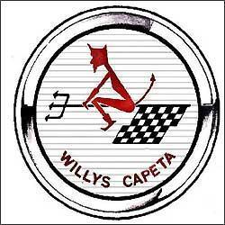 Logotipo deixava claro as más intenções do esportivo, equipado com um seis cilindros de 2,6 litros e 148 cv