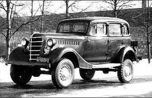 Avô dos crossovers: o GAZ 61-73 lançado em 1938 era uma mistura incomum de carro de passeio e utilitário 4X4