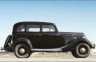 O modelo M1 da década de 30 foi o primeiro automóvel a ser adaptado às condições duras da Rússia