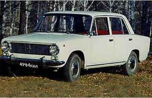 O Vaz/Lada 2101 era basicamente uma versão modificada do Fiat 124