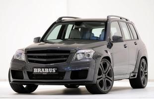 O Brabus GLK V12 foi apresentado para a imprensa no Salão de Dubai