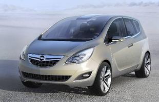 A nova geração do Opel Meriva começa a ser produzida este mês na Europa