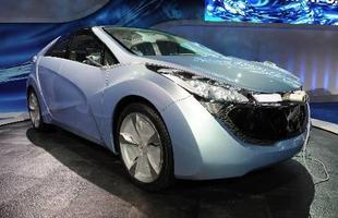 O conceito Hyundai Blue Will é uma das apostas da marca sul coreana no merdado dos híbridos