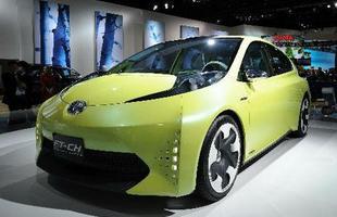 O Toyota FT-CH conceito faz parte da nova ofensiva de carros ecológicos da marca japonesa