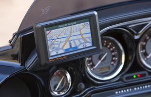 Essa Harley conta até mesmo com GPS