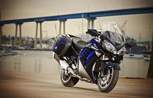 A Kawasaki GTR 1400 Concours foi lançada originalmente em 2007