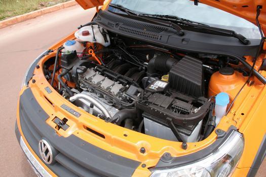 Motor 1.6 proporciona bom desempenho à picape
