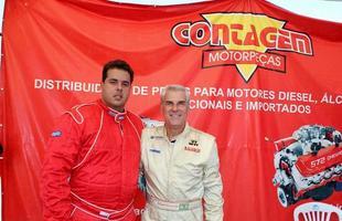 Edgar Amaral (nº 177) e Ricardo Lima (nº 17), ambos da categoria Super