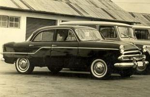 Primeiro modelo tinha formas arredondadas, proporções generosas e amplo espaço interno, com capacidade para seis passageiros