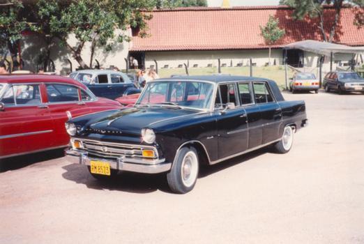 O Itamaraty Executivo, uma limusine de 5,52 metros de comprimento, foi lançado em 1967
