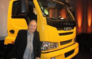 O ator Stênio Garcia foi quem apresentou o Iveco Vertis aos convidados