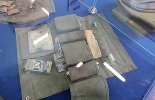 Kit de higiene pessoal, com direito a cigarros!