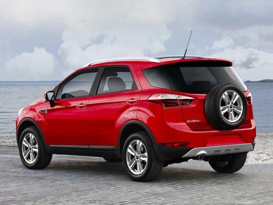 Protótipos Ford - Nova Ranger e novo EcoSport