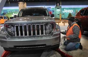 Jeep Liberty, antes da abertura oficial