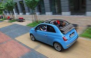 Versão conversível do 500 deverá ser comercializada no Brasil