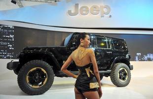 Estande da Jeep